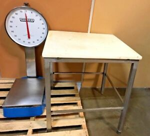 Hobart Dial Up Scale With Table Ho1315