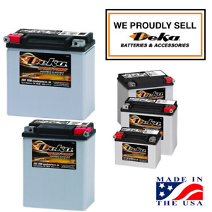 Deka Etx Power Sport Agm Batteries For Harley Others Starting As Low As 58