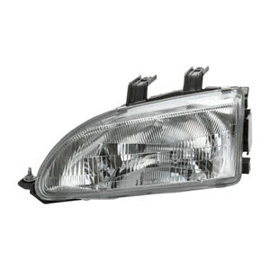Left Headlight Assembly For 1992 1995 Honda Civic 1993 1994 Tyc 20 1691 00