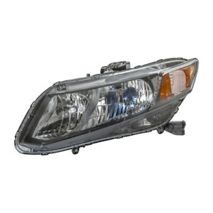Left Headlight Assembly For 2012 Honda Civic Tyc 20 9210 90 1