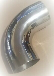 Ss 304 Stainless Steel 90 weld Short Elbow 2 5 Inch Od 2 5 Inch 63 5 Mm Od