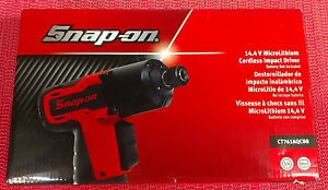 New Snap On Ct761aqcdb 14 4 V 3 8 Drive Quick Change Cordless Impact Wrench
