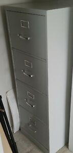 Pinnacle 4 drawer Legal Size Vertical Beige 26 5 File Cabinet Local Pickup