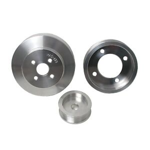 Alternator Crankshaft And Water Pump Pulley Set For 1994 1995 Ford Mustang