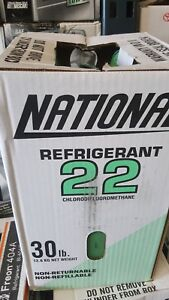 R 22 Refrigerant 30lbs New Sealed R22 Freon Ships Same Day Fast