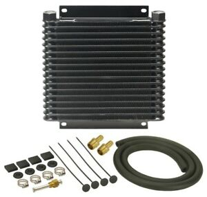 Derale 10 1 8 X 11 7 8 X 1 1 4 In Automatic Trans Fluid Cooler Kit P n 13614