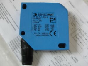New Sensopart Photo Electric Color Sensor Ft50c 1 pll8 575 11000