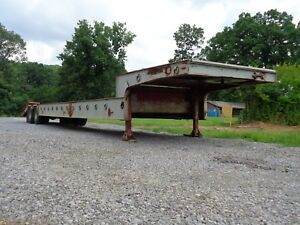 Talbert Heavy Equipment Trailer