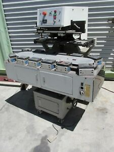 Leo Corp 700c 12 Color Electric Pad Printing Machine