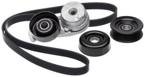 Serpentine Belt Drive Component Kit For 2000 2002 Ford Mustang 4 6l V8 Gas Gates
