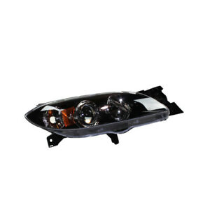 Right Headlight Assembly For 2004 2009 Mazda 3 2005 2006 2007 2008 Tyc
