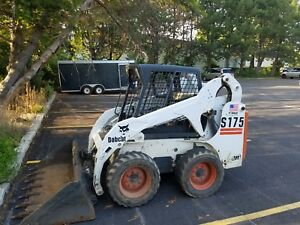2003 Bobcat S175 Skid Steer Loader Only 1542 Hrs 2 Buckets In Chicago Area