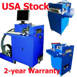 Us Stock Ving Cnc Notching Notcher Machine For Metal Channel Letter Single Sid