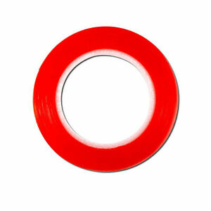 4965 Tesa Tape Double Sided Red Tape 4mm W X 25m L