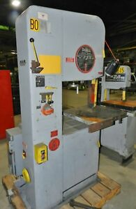 Doall Model 2013 u 20 Vertical Band Saw