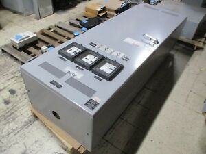 Asco Automatic Transfer Switch W Bypass E436340097 400a 480v 60hz Used