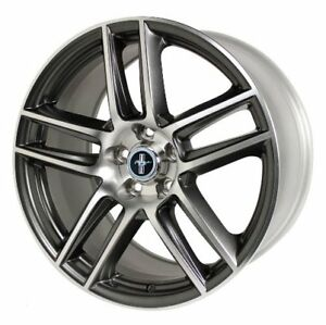 2012 2013 Ford Mustang Boss 302 Laguna Seca Rear Wheel 19 X 10 Charcoal