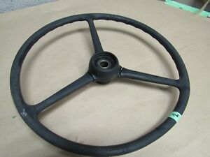 Jeep Willys Steering Wheel Cj3b Early Cj5 2 3 8 Horn Button Opening Used St1