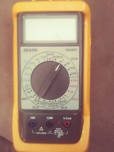 Sears 117 Electrician s Digital Multimeter With Non contact Voltage