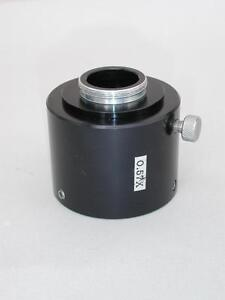 C mount 0 57x Camera Adapter For Olympus Inverted Microscope