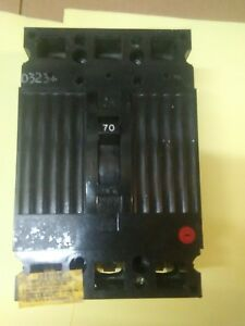 General Electric Circuit Breaker Ted134070wl Ted134070 Free Shipping Usa