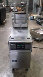 Pitco Solstice 40 50lb Sg14 Natural Gas Fryer With Solo Filter System