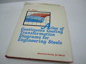 Asm Book Atlas Continuous Cooling Transformation Diagrams Engineering Steels