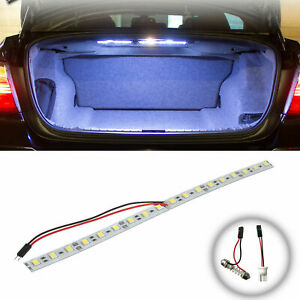 1pc 12 T10 Super White Hid 18 smd Strip For Car Trunk Cargo Area Led Light Lamp