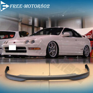 For 94 97 Acura Integra Front Bumper Lip Spoiler Bodykit Type R Style Pp