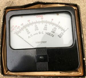 Simpson Ohm Meter Panel Meter A c And D c Volts