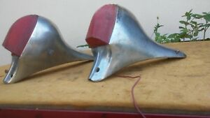 Vintage Tail Lights Chevrolet 1946 1954 Hot Rod Parts Early After Market