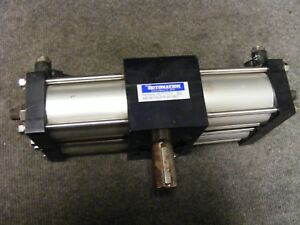 Rotomation Pneumatic Rotary Actuator As Pictured Cat No A42 90 cw s10 3a 1 4 2