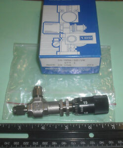 Porter parker Metering Valve Angle 316 Stainless Steel 1 8 Comp 2a nma ss vv