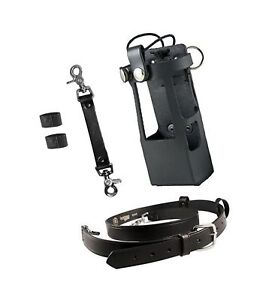 Boston Leather Bundle Three Items Anti sway Strap For Radio Strap Firefight