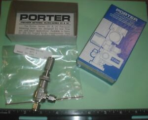 Porter parker Metering Valve Angle 316 Stainless Steel 1 8 Comp 2a nma ss vk