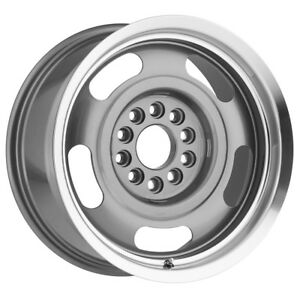 4 17 Inch Vision 55 Aluminum Rally 17x7 5x5 5x4 75 0mm Gunmetal Wheels Rims