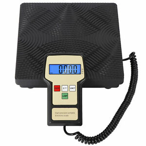 Portable High precision 220 Lbs For Hvac Refrigerant Electronic Charging Scales