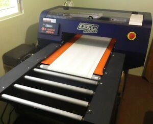 Dtg Viper Digital Direct To Garment Printer Used Working