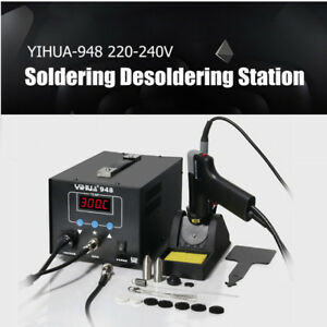 220v Electric Digital Soldering Iron Handle Desoldering Station Weller Welder