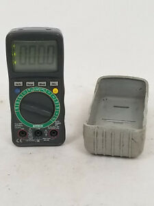 Extech True Rms Multimeter Instruments 22 816 W Case Tested And Working