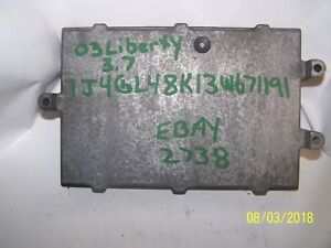 2003 Jeep Liberty 3 7 Engine Control Module At 42rle Id 56044195ah