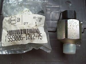 Hydraulic Rotary Joint Or Swivel Aeroquip 5900 Series Fs59006 1212 75 3 4