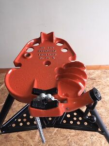 Ridgid 450 Portable Tristand Chain Vise Stand reconditioned