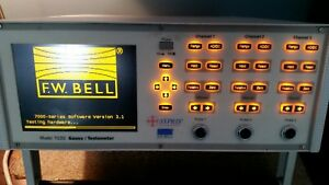 Fw Bell Gauss tesla Meter Model 7030 Sypris Probe