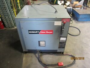 24 Volt 12 Cell Automatic Forklift Battery Charger Working Pull 381 450 Ah 3 Ph