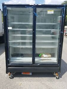 Hill Phoenix Commercial Display take out cooler refrigerator Brand New