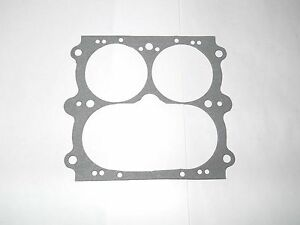 Holley 3160 Series 3 Barrel Throttle Body Gasket 950 1050 Vacuum Secondarys