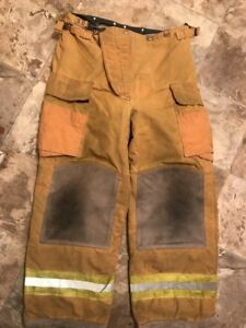Lion Bodyguard Firefighter Turnout Gear Bunker Pants 36 X 30 Halloween Costume