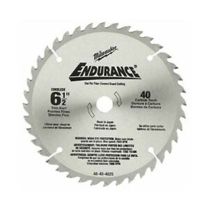 Milwaukee 48 40 4015 6 1 2 Ferrous Metal Cutting Circular Saw Blade