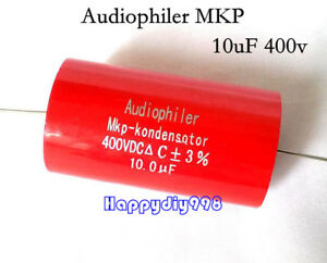 2pc 5pc 10pc 20pc Audiophiler Mkp Audio Capacitor 400v 10uf